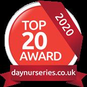 top 20 Award Logo